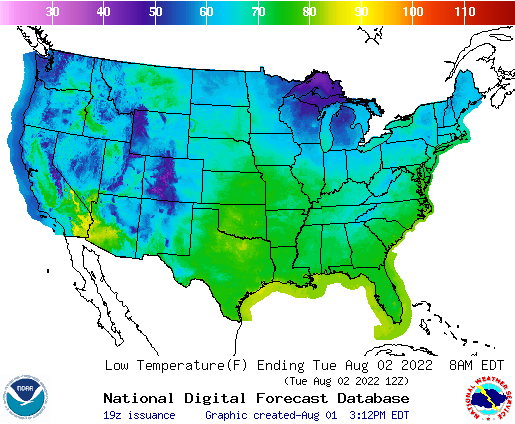 SE Lincoln NE USA Weather Website NWS US Graphical Forecast Maps - Us map forecast