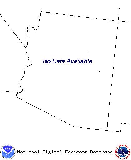 NWS Arizona graphical forecast