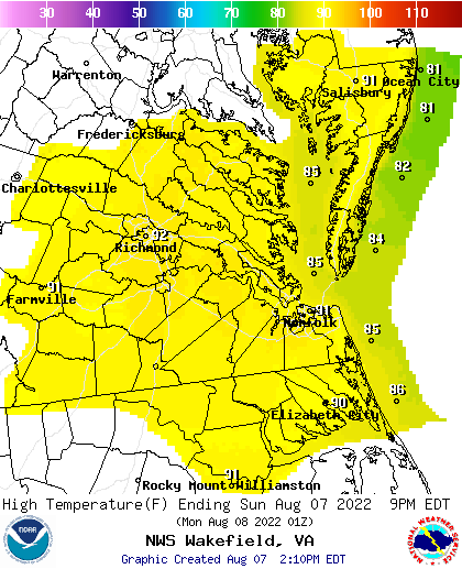 Graphical Forecast Images