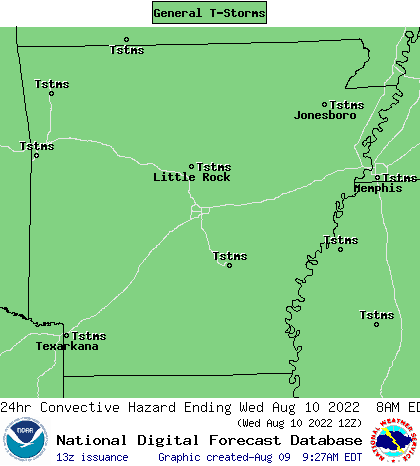 The Central Arkansas Storm Spotter's and Weather Buff's