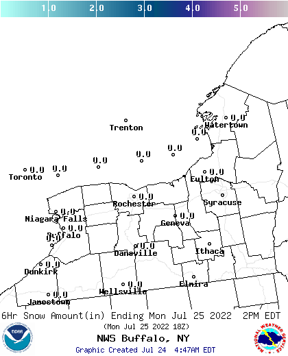 BUF 18 Hour Wx Forecast