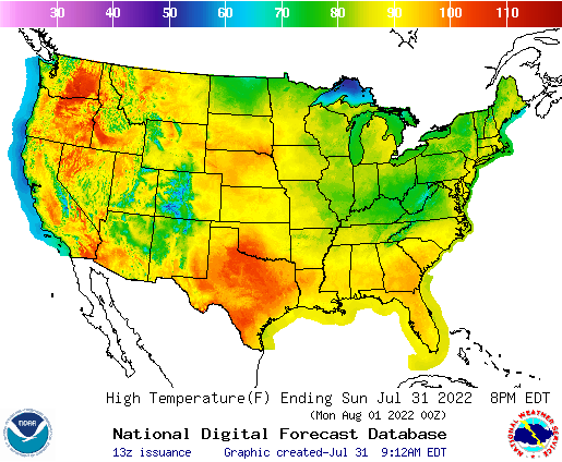 Rainfall Map Usa National Forecast Maps
