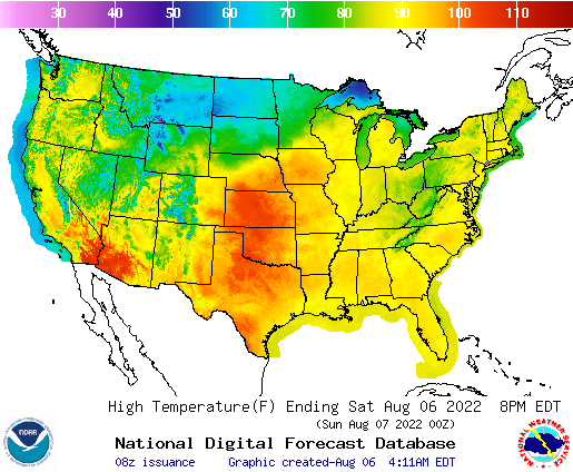 Weekend Weather Map National Forecast Maps
