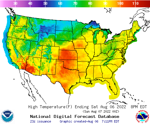 Weather Map Of Us National Forecast Maps