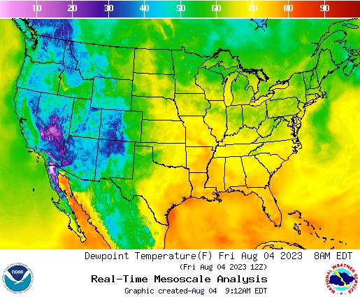 NWS U.S. Forecast Map Slideshows