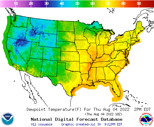 Us Weather Map Temperature Forecast - The us weather map