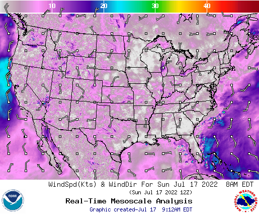 Weather Street: U.S. 7-Day Wind Forecast