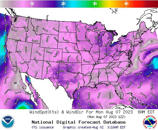 NDFD Wind -- 44 hr