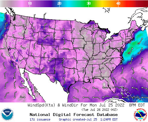 Carson City Weather NWS US Forecast Map Slideshows - Us wind speed map