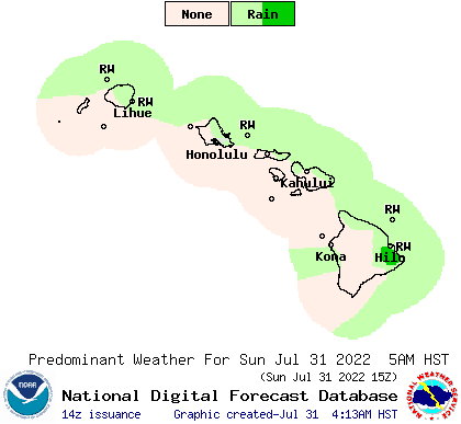 weather street 7 day hawaii weather type forecast