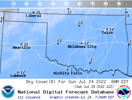 weather street 7 day oklahoma cloud cover forecast