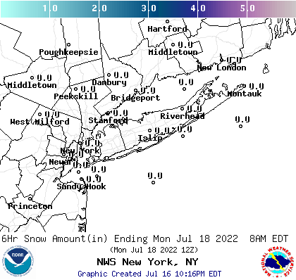 30-36 hr snowfall forecast