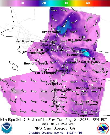 National Digital Forecast Database Image