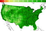 National Relative Humidity Image