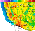 National Digital Forecast Database Maximum Temperature Forecast