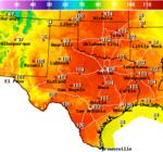 7-Day Forecast for Latitude 29 46°N and Longitude 98 5°W