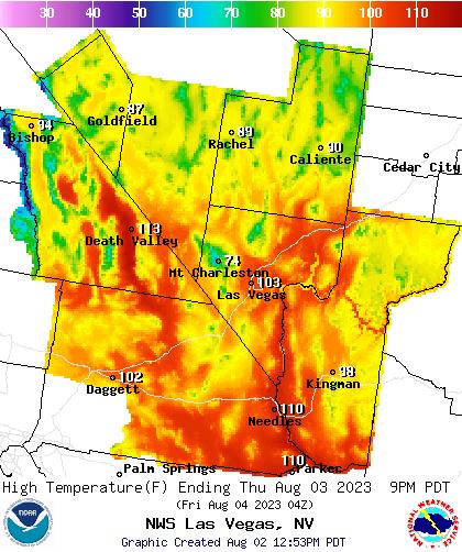 Las Vegas Valley Weather