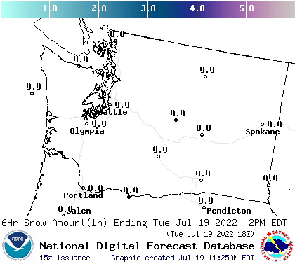 Washington Mountain Forecast